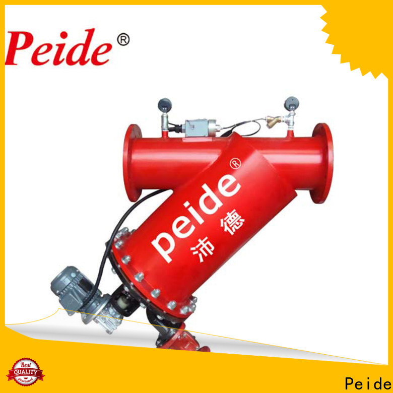Peide automatic water treatment products Supply for hotel