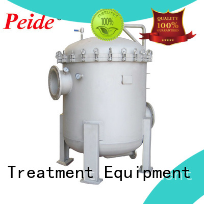Peide automatic backwash filter with overload protection fish farm