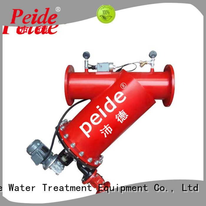 Peide filter auto backwash filter with overload protection for hotel spa