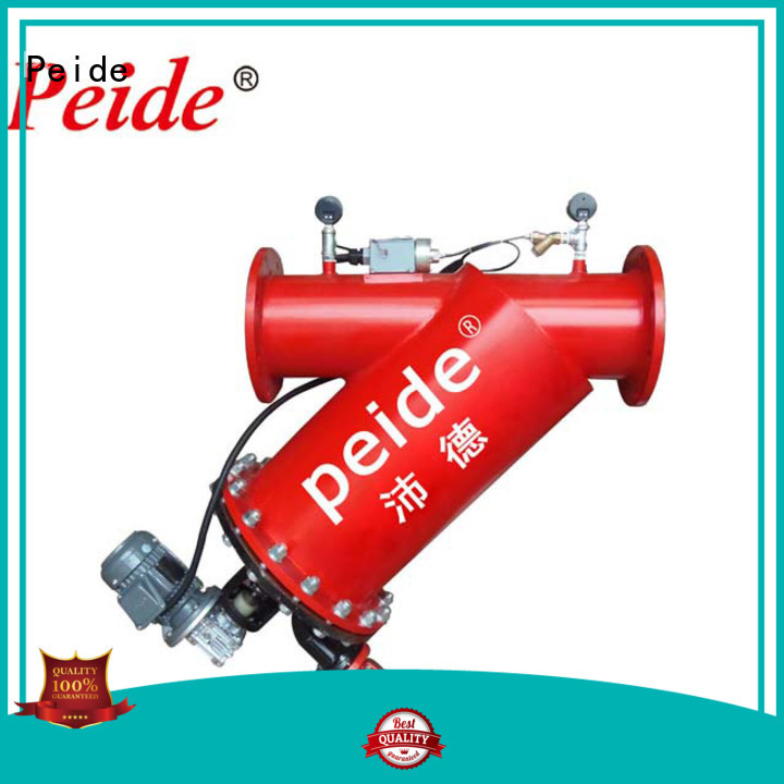Peide Top sand filter system with overload protection for hotel spa