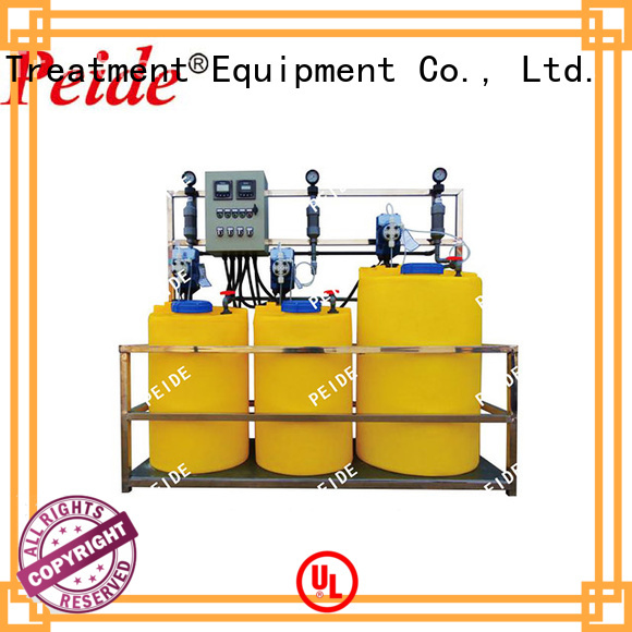 Peide sterilizer water dosing system wholesale for lakes